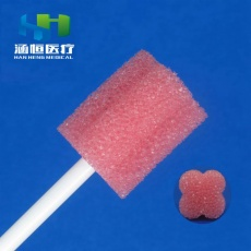 8704 Disposable Sponge Stick(Plum  Head)