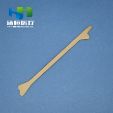 8407 Disposable  wood two heads fish tail Sterile Scraper